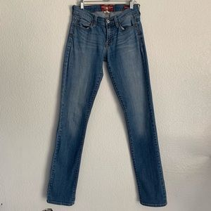 Lucky Brand   Sofia staight medium wash jeans 2 26